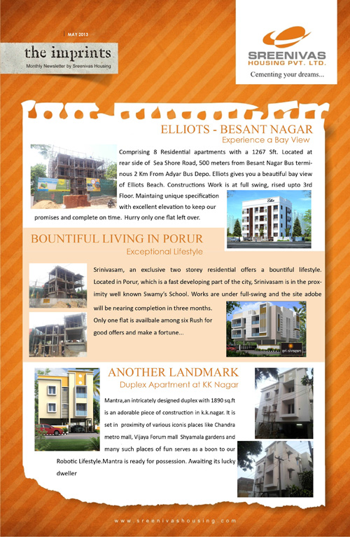 Affordable apartments sale chennai