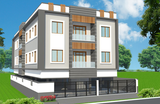 Appartment for sale in Thuraipakkam, OMR